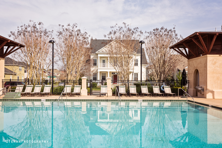 Real Estate photography luxury home Baldwin Park exterior pool view